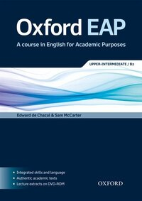 Oxford EAP: Upper-Intermediate / B2 Student Book and DVD Pack