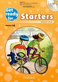 Book Get Ready for: Starters Students Book and Audio CD Pack by Petrina Cliff