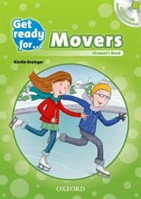 Book Get Ready for: Movers Students Book and Audio CD Pack by Kirstie Grainger