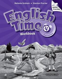 Book English Time: 4 Workbook with Online Practice by Melanie Graham