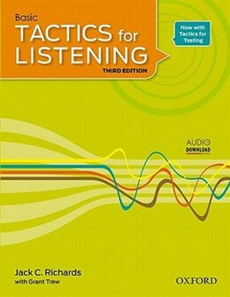 Book Tactics for Listening: Basic Tactics for Listening Student Book 1 by Jack C. Richards