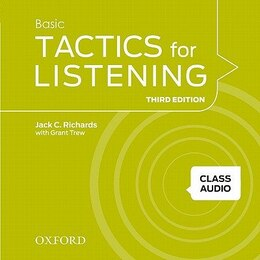 Book Tactics for Listening: Class Audio CDs 1 (4 Discs) by Jack C. Richards