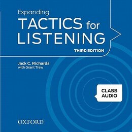 Book Tactics for Listening: Expanding Tactics for Listening Class Audio CDs 3 (4 Discs) by Jack C. Richards