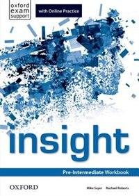 insight: Pre-Intermediate Workbook with Online Practice
