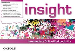 Book insight: Intermediate Online Workbook Plus - Card with Access Code by Oxford