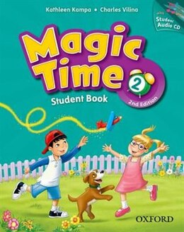 Book Magic Time: Level 2 Student Book and Student CD Pack by Kathleen Kampa