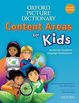 Book Oxford Picture Dictionary: Content Areas for Kids by Jenni Currie Santamaria