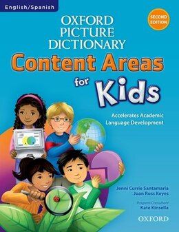Book Oxford Picture Dictionary Content Area for Kids: English/Spanish Edition by Jenni Currie Santamaria