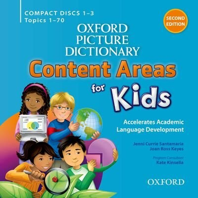 Oxford Picture Dictionary: Content Areas for Kids Content ...