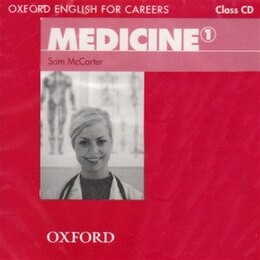 Book Oxford English for Careers: Medicine 1 Class CD by Sam McCarter