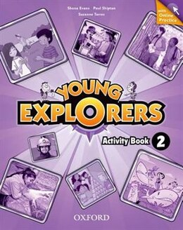 Book Young Explorers: Level 2 Workbook with Online Practice Pack by Nina Lauder