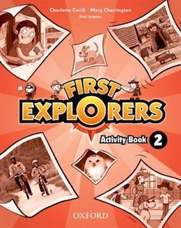 Book First Explorers: Level 2 Activity Book by Charlotte Covill