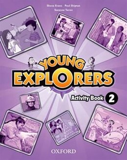 Book Young Explorers: Level 2 Activity Book by Nina Lauder
