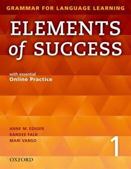 Book Elements of Success: Level 1 Student Book with essential Online Practice by Anne M. Ediger