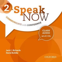 Book Speak Now: Level 2 Class CD (2 Discs) by Jack C. Richards