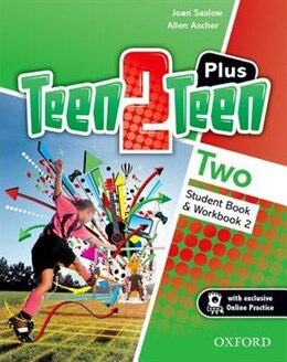 Book Teen2Teen: Level 2 Plus Student Pack by JOAN SASLOW