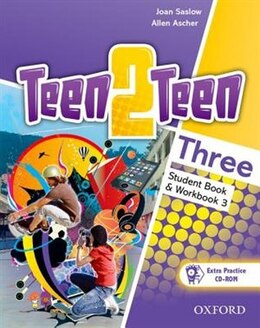 Book Teen2teen: Three Student Book and Workbook with CD-ROM by JOAN SASLOW
