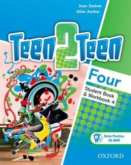Book Teen2teen: Four Student Book and Workbook with CD-ROM by JOAN SASLOW