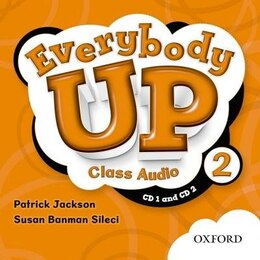 Book Everybody Up: Level 2 Class CD by Patrick Jackson