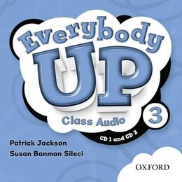 Book Everybody Up: Level 3 Class Audio CDs by Susan Banman Sileci