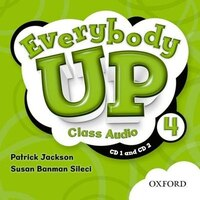 Everybody Up: Level 4 Class Audio CDs
