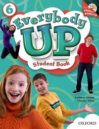Everybody Up: Level 6 Student Book with Audio CD Pack