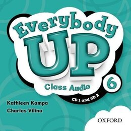 Book Everybody Up: Level 6 Class Audio CDs by Kathleen Kampa