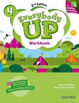 Book Everybody Up: Level 4 Workbook with Online Practice: Linking your classroom to the wider world by Patrick Jackson