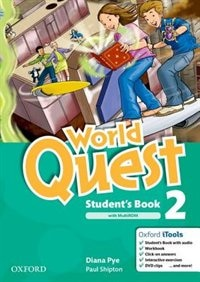 Book World Quest: 2 Students Book Pack by Diana Pye