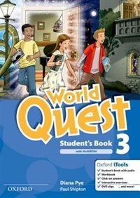 Book World Quest: 3 Students Book Pack by Diana Pye
