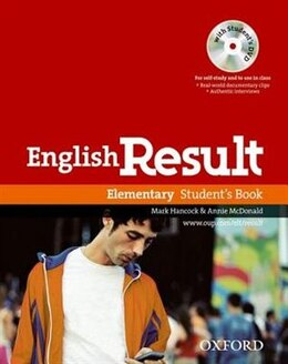 Book English Result: Elementary Students Book with DVD Pack by Paul Hancock