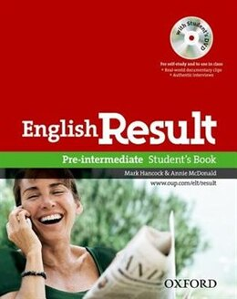 Book English Result: Pre-Intermediate Students Book with DVD Pack by Paul Hancock