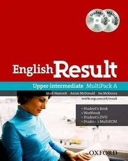 Book English Result: Upper Intermediate Multipack A by Mark Hancock