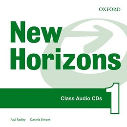 Book New Horizons: Level 1 Class CD (International) by Oxford