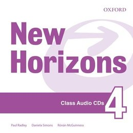 Book New Horizons: Level 4 Class CD by Paul Radley