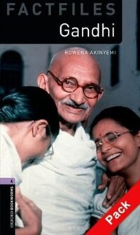Book Oxford Bookworms Factfiles 2e: Stage 4 (1,400 Headwords) Gandhi Pack by Christine Lindop