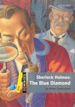 Book Dominoes Second Edition: Level 1: 400 Headwords Sherlock Holmes: The Blue Diamond by Arthur Conan Doyle