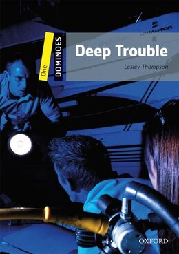 Book Dominoes Second Edition: Level dd1: 400 Headwrods Deep Trouble by Lesley Thompson
