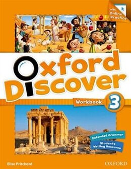 Book Oxford Discover: Level 3 Workbook with Online Practice by Elise Pritchard