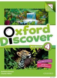 Book Oxford Discover: Level 4 Workbook with Online Practice by Kathleen Kampa