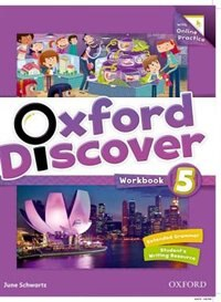 Book Oxford Discover: Level 5 Workbook with Online Practice by June Schwartz