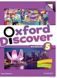 Book Oxford Discover: Level 5 Workbook with Online Practice by June Schwartz