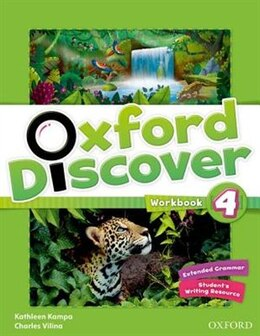 Book Oxford Discover: Level 4 Workbook by Kathleen Kampa