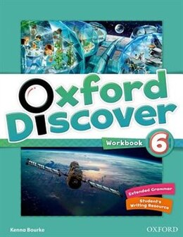Book Oxford Discover: Level 6 Workbook by Kenna Bourke