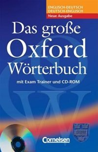 Book Das Grosse Oxford Worterbuch Book, CD and Trainer Pack by Oxford