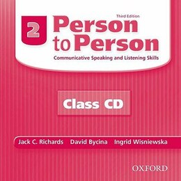 Book Person to Person, Third Edition: Level 2 Class Audio CDs (2) by Jack C. Richards