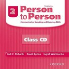 Person to Person, Third Edition: Level 2 Class Audio CDs (2)