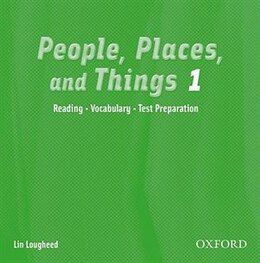 Book People, Places, and Things: Level 1 Audio CD by Lin LOUGHEED