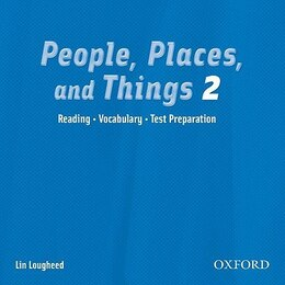 Book People, Places, and Things: Level 2 Audio CD by Lin LOUGHEED