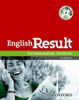 Book English Result: Pre-Intermediate Workbook with Answer Booklet and MultiROM Pack by Paul Hancock